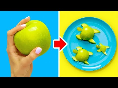18 CREATIVE FOOD CARVING IDEAS FOR KIDS