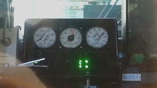 南海8300系 0-105km/h加速!