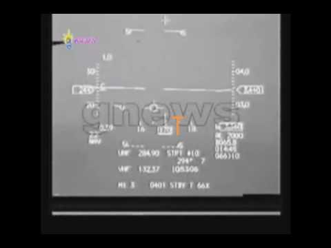 Πτώση του Helios, αναφορά από τον πιλότο του f-16