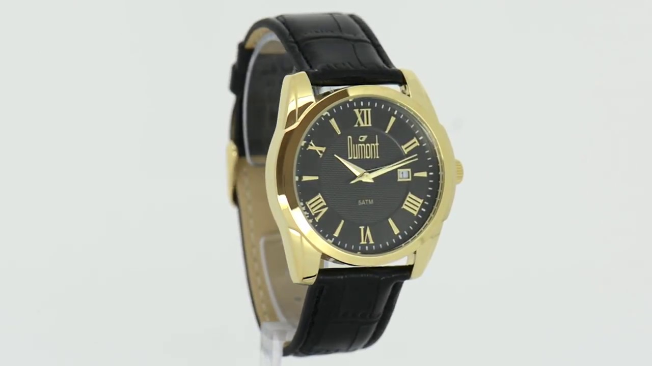 20bce8a4500 Relógio Dumont Masculino Berlim DU2115BE 2P - Eclock. Eclock Relógios