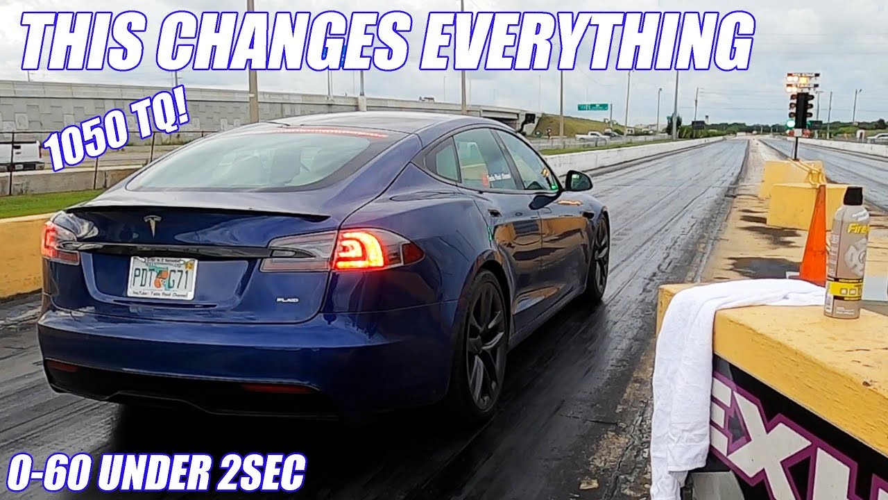 Drag Racing 1020hp Tesla Plaid Vs Everything! It could Change Racing FOREVER! (Mind Blowing!)
