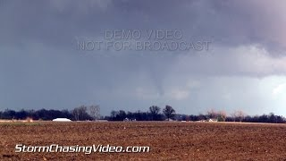 11/17/2013 Central Illinois and Indiana Tornado and Damage B-Roll Package