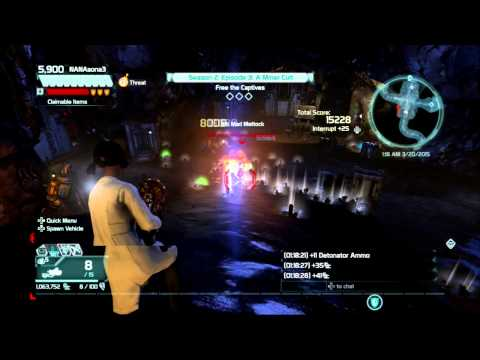 Defiance PS3 farming key/af solo expert coop mission #2