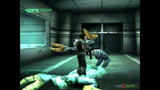 C-12 Final Resistance - Gameplay PSX (PS One) HD 720P (Playstation classics)