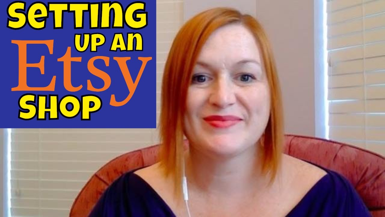 How to Open an Etsy Shop - Starting an Etsy Shop Tutorial - Make Money Selling Online