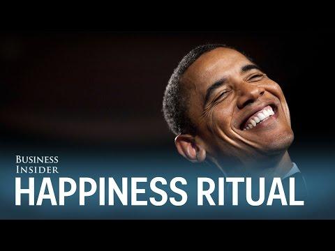 Daily ritual makes you happier
