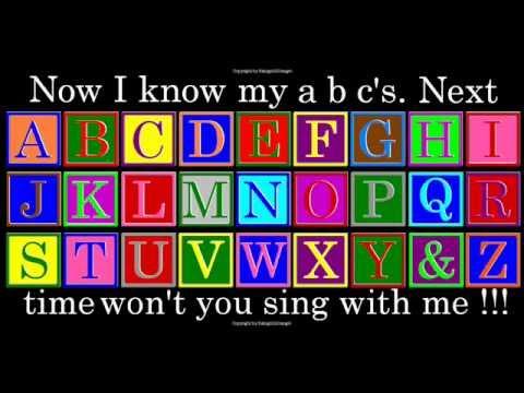 A B C D E F G - Nursery Rhymes | Children Play School ...