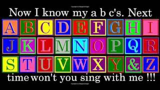 a b c songs /a b c d  Alphabet song For Children kids baby babies With Lyrics nursery rhyme
