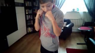 Шаг за шагом к чемпиону #1 . Тренировка боксёра) в домашних условиях! БОКС.