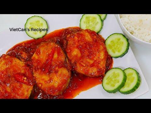 Cách nấu Cá Thu Sốt Cà chua (How to make King Mackerel with Tomato Sauce )