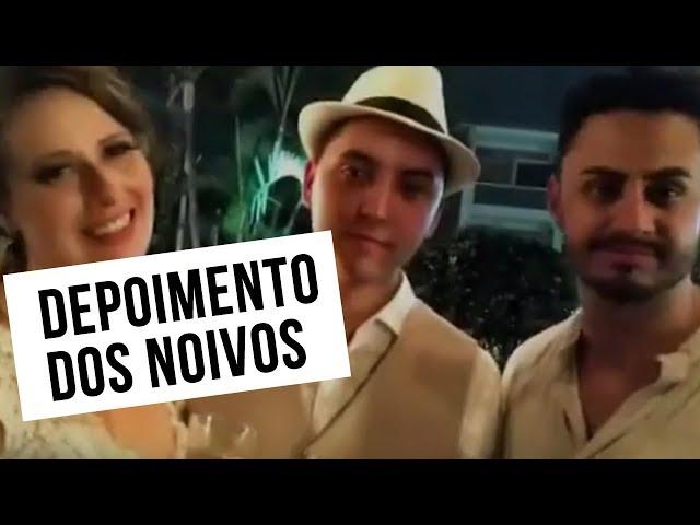 DEPOIMENTO DOS NOIVOS - Amanda e Guilherme - BANDA FÊNIX