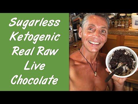 How to Make Sugarless Ketogenic Real Raw Live Chocolate | Dr. Robert Cassar