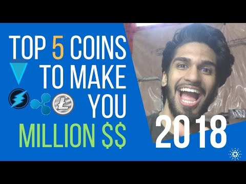 TOP (5) CRYPTO COINS THAT WILL MAKE YOU RICH IN 2018!!