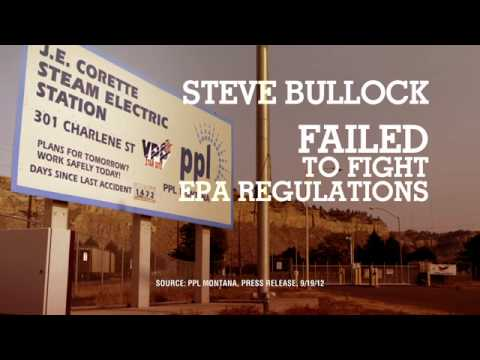 Steve Bullock Doesn't Fight for Montana