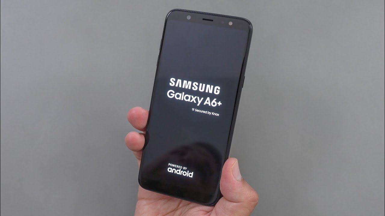 Samsung Galaxy A6 Plus A6 2018 Unboxing Erster Eindruck