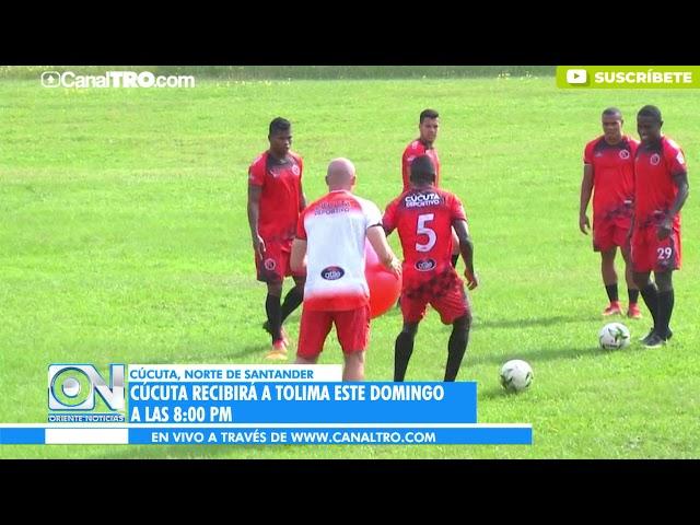 Cúcuta recibirá a Tolima este domingo