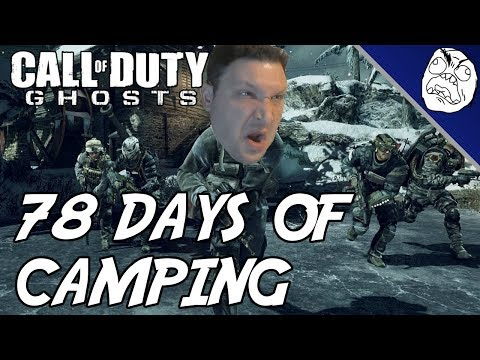 Call of Duty Ghosts Rage Montage #1,276,490,047: 78 Days Played of Camping