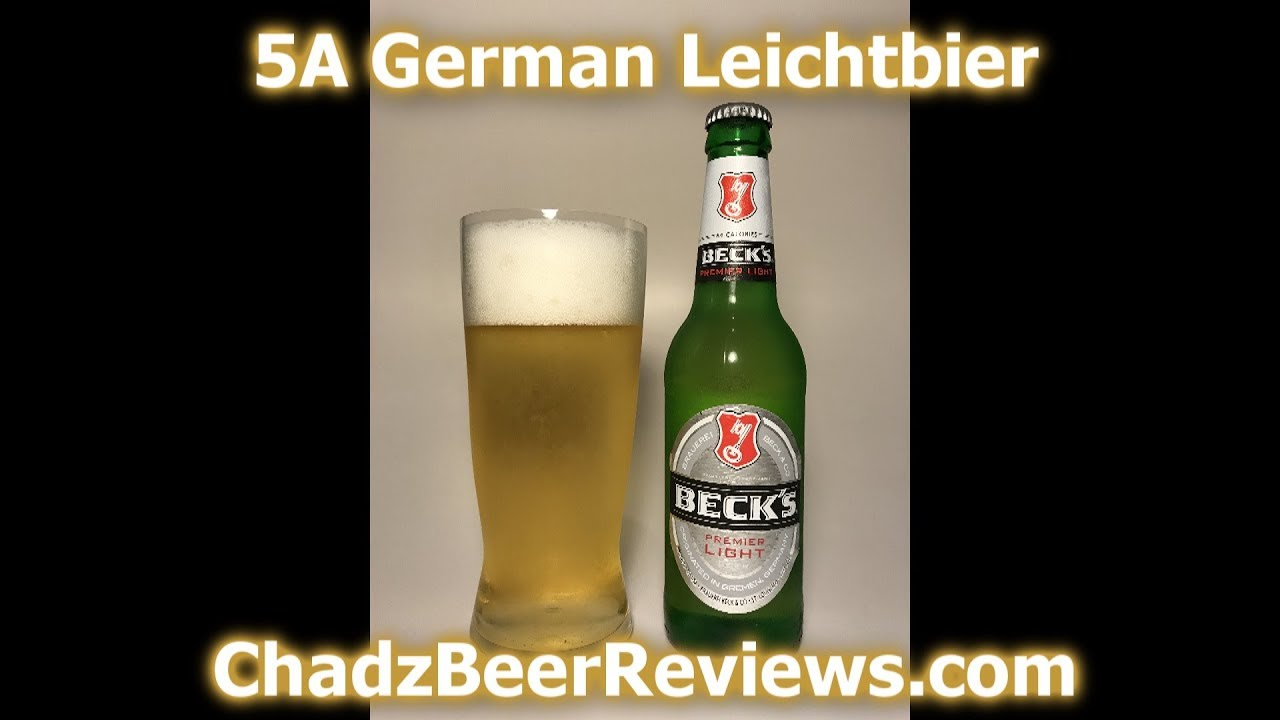 Becku0027s Premier Light | Chadu0027z Beer Reviews #867