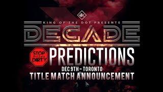 KOTD - Head I.C.E. vs Chilla Jones | DIRTY Predictions