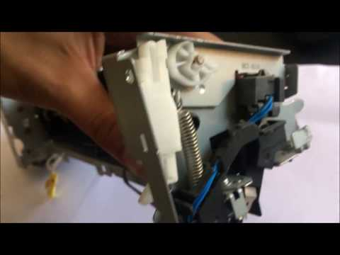 HP LaserJet PRO 400 - How to replace fuser replacement sleve. HP fuser replecemant M425DN M425DW