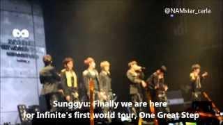 131103 One Great Step in Manila, Infinite so greaaaasyyy! =_= Pleas...