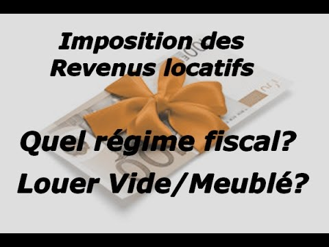 imp t des locations conseil calcul comment d clarer vos loyers impact en meubl et vide youtube. Black Bedroom Furniture Sets. Home Design Ideas