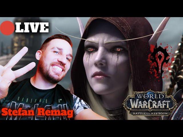 🔴[LIVE]  World of Warcraft  Battle For Azeroth druid   hunter   demon hunter gameplay 😃💪✌👊