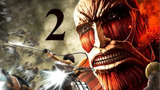 Attack on Titan Wings of Freedom Gameplay Walkthrough Part 2 PC - No Commentary Playthrough