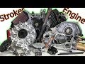 Stroker Engine Build: 30+ HP on a 65 MPH Mini Bike! (Complete Build)