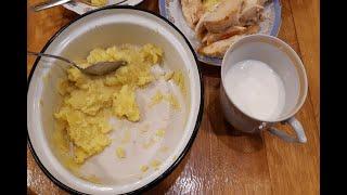 Как приготовить картофельное пюре. | How to cook mashed potatoes.
