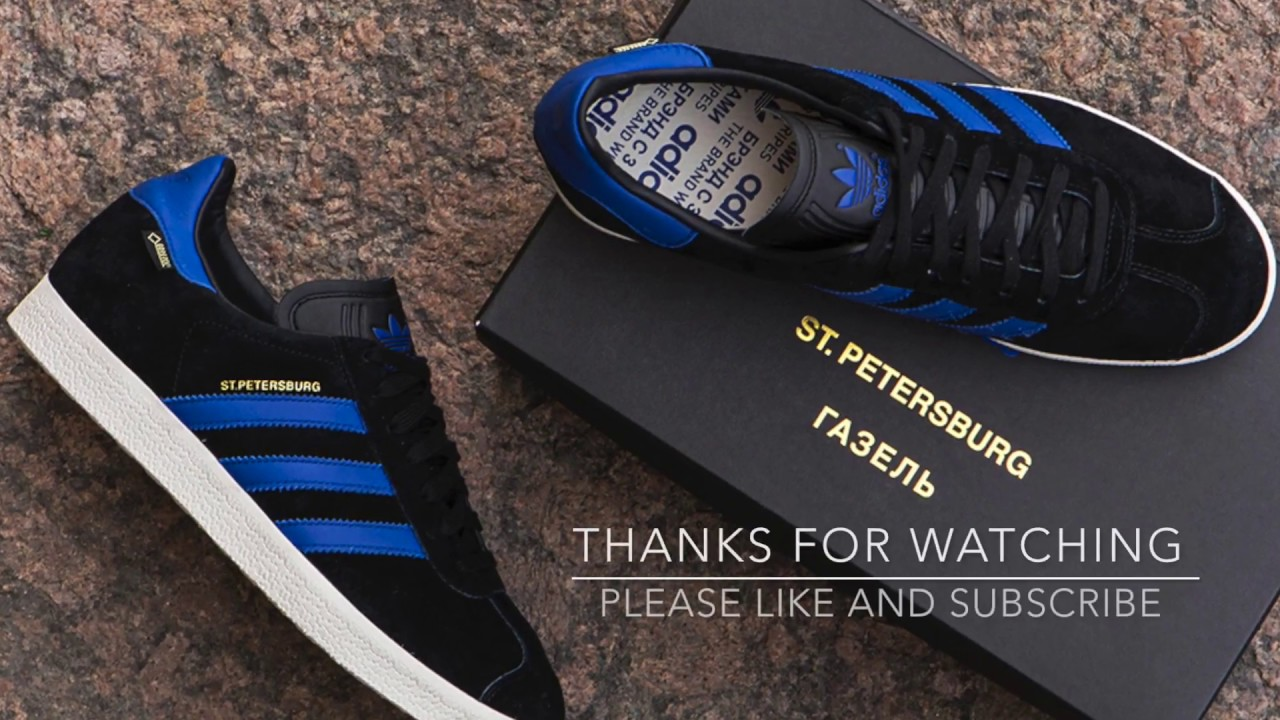Adidas Originals Gazelle YouTube St Petersburg