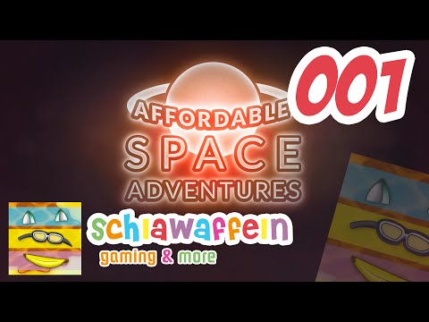 Affordable Space Adventures #001 - 3 Player - Co-Op - schlawaffeln [HD] [FACECAM] [GER]