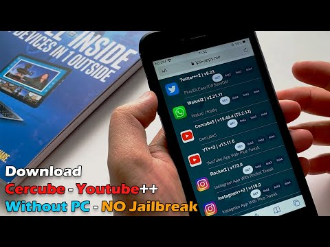 Cercube -Youtube++ for iPhone| iPad without PC | NO Jailbreak
