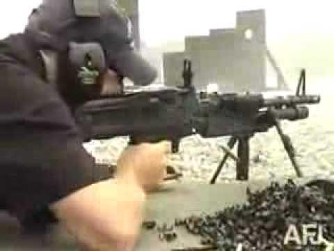 M60 Machine Gun shooting 850 Rounds in under 2 minutes!