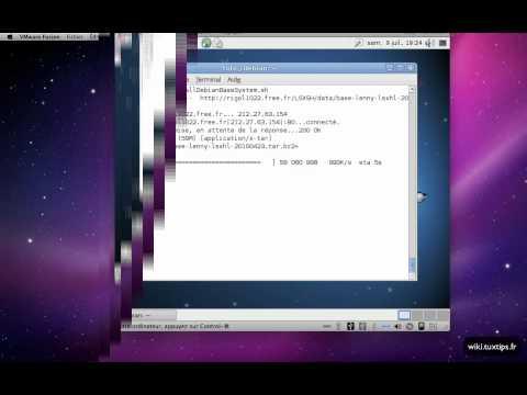 install Debian Base System on buffalo LS-XHL