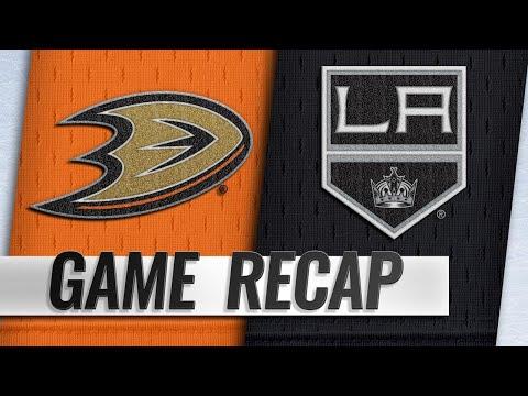 Kings defeat Ducks in Desjardins' debut