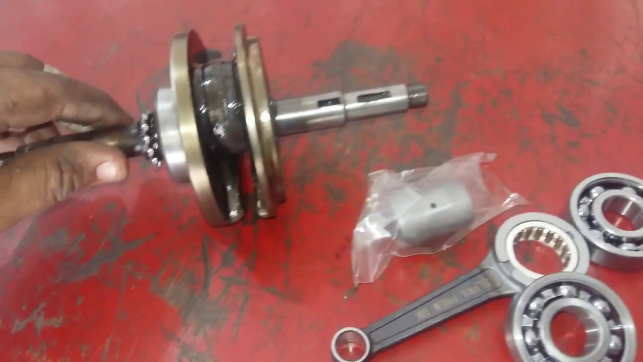 1e798ca738d como cambiar una biela. reparo mi moto.