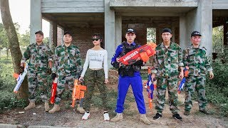 LTT Nerf War : Special police SEAL X Warriors Nerf Guns Taking Mission Fight Criminal Group