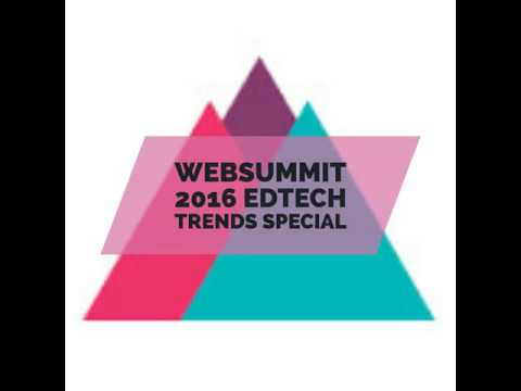 #43 Websummit edtech trends  - coding, careers, gaming, language learning