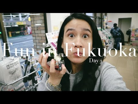 FREAKING OUT IN 7-ELEVEN! | Fukuoka Day 1 | Karla Aguas