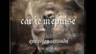 dark sanctuary-la clameur du silence-español