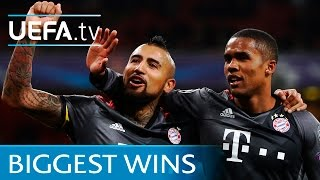 Bayern 10-2 Arsenal and the other biggest knockout wins