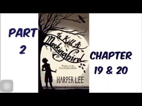To Kill A Mockingbird By Harper Lee Part 2 Chapter 19 & 20 Audiobook Read Aloud