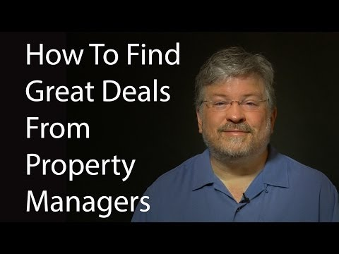 How To Find Great Deals From Property Managers