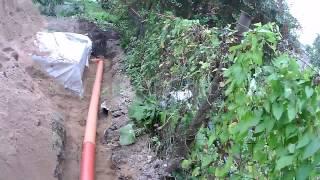 Ливневая система канализации загородного дома