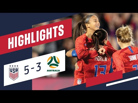 WNT vs. Australia: Highlights - April 4, 2019