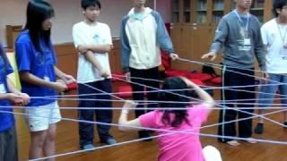 100.04.16人際會心團體-PA探索體驗活動2