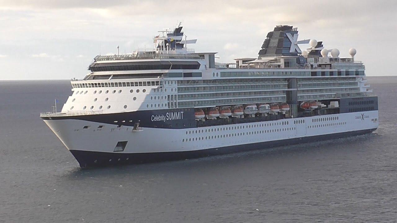 Celebrity Summit Cruise Ship Arriving At St Kitts YouTube - Summit cruise ship