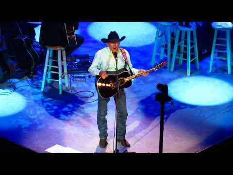 George Strait - Baby Blue/Feb 2019/Las Vegas, NV/T-Mobile Arena