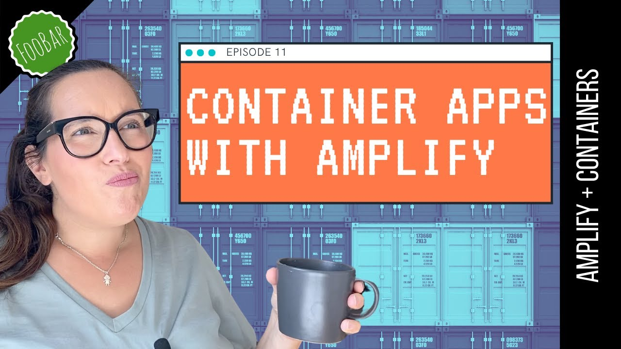 CREATE AND DEPLOY CONTAINER APPLICATIONS WITH AWS AMPLIFY | The easiest Fargate containers
